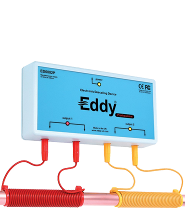 eddy electronic water descaler