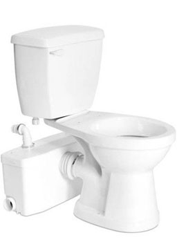 saniflo sanibest macerating upflush toilet kit