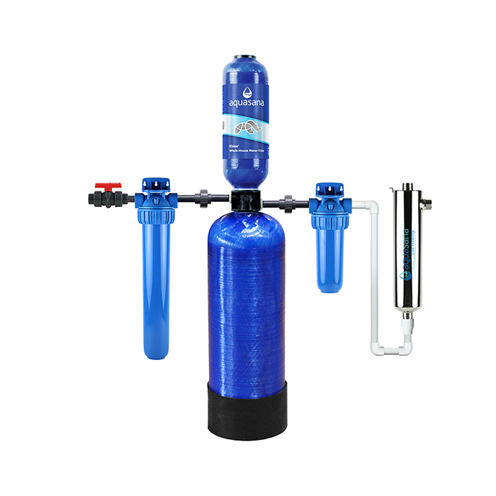 AQUASANA 500,000 GALLON WELL WATER WHOLE HOUSE FILTER